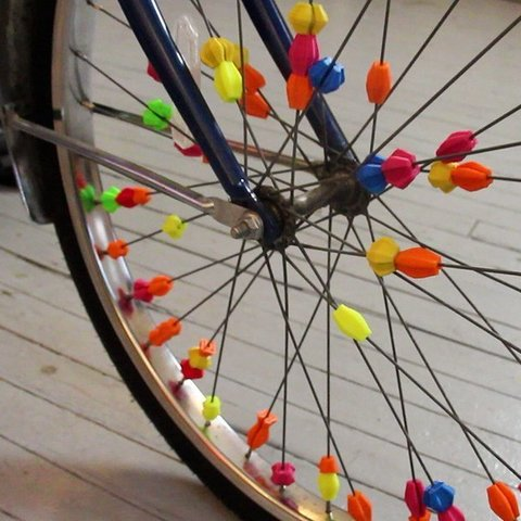 Free 3D printer files Bicycle Spoke Beads, Jeyill3