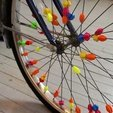 Download free 3D print files Bicycle Spoke Beads, Jeyill3