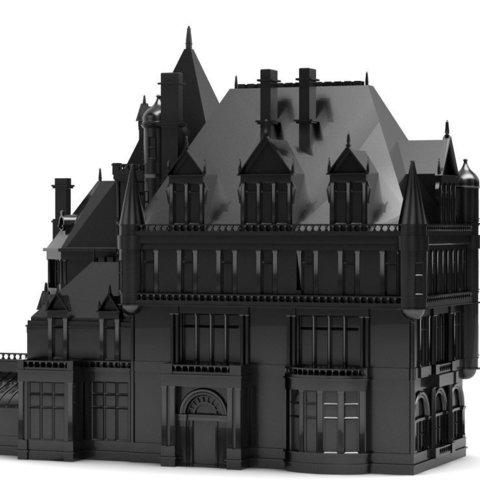 Objet 3D gratuit Cornelius Vanderbilt II Mansion - NYC, Jeyill3