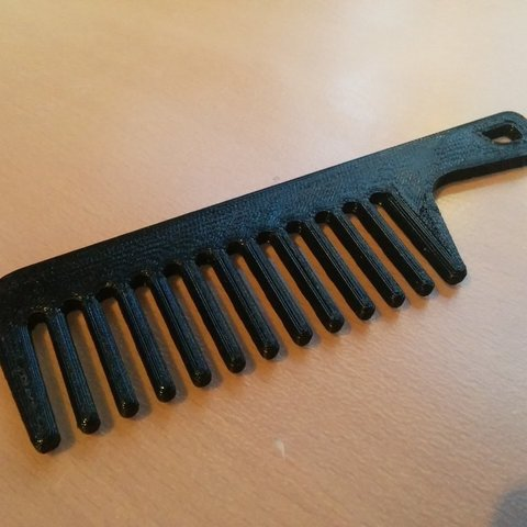 Download free 3D printing designs Pocket comb, Jeyill3