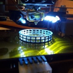 Download free 3D printing designs Z Stage LED strip clip, Steedrick