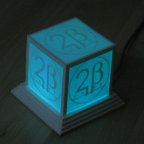 logo_cube_lightblue_display_large_display_large.jpg Download free STL file Glowing Logo Cube • 3D print object, Steedrick