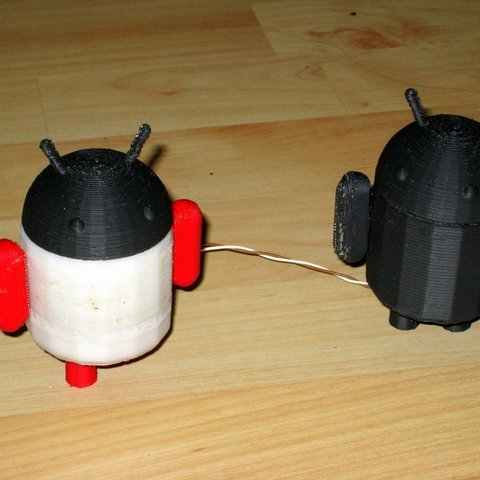 IMG_0705_display_large_display_large.jpg Download free STL file Glowing Lovable Google Android! • 3D print object, Steedrick
