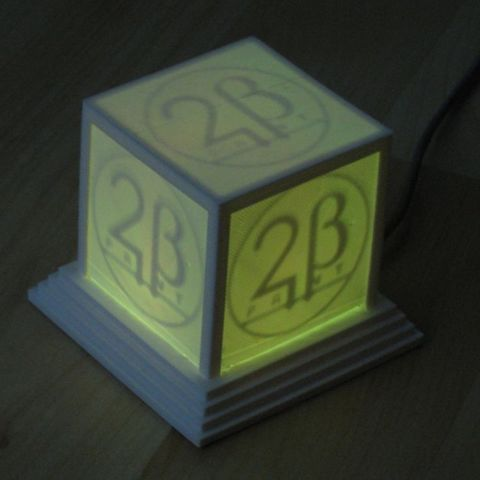 logo_cube_yellow_display_large_display_large.jpg Télécharger fichier STL gratuit Cube à logo lumineux • Plan imprimable en 3D, Steedrick