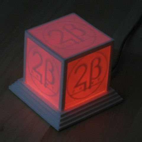 logo_cube_red_display_large_display_large.jpg Download free STL file Glowing Logo Cube • 3D print object, Steedrick