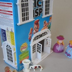 IMG_5344_display_large.jpg Download free STL file Cereal box, Baroque house • Model to 3D print, Steedrick