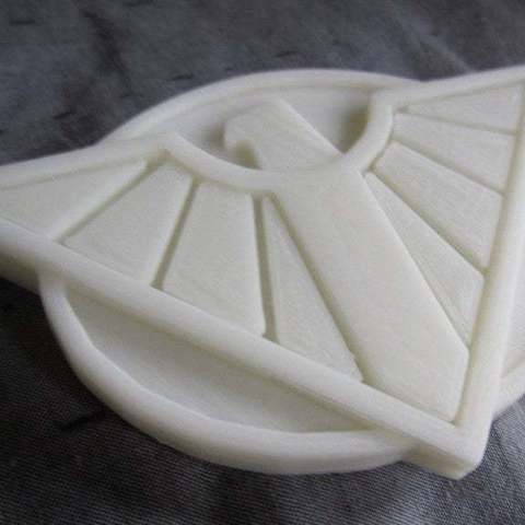 Download free 3D printing templates Wonder Woman: Bombshell! Cosplay Belt Buckle, Steedrick