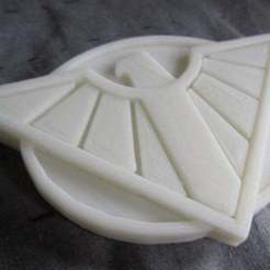 Download free 3D printing templates Wonder Woman: Bombshell! Cosplay Belt Buckle, Steedrick