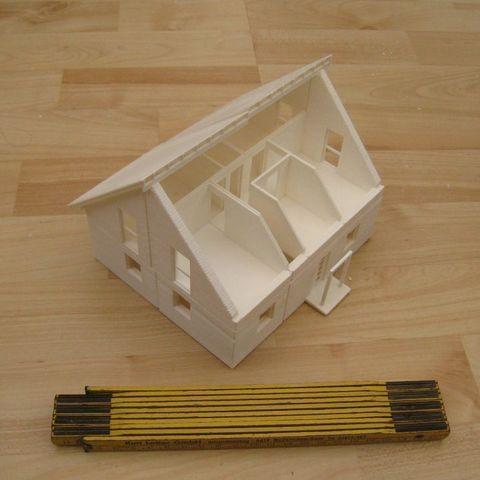 Free 3D printer files House, Steedrick