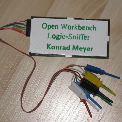 Download free 3D printing templates Open Workbench LogicSniffer Case, Steedrick