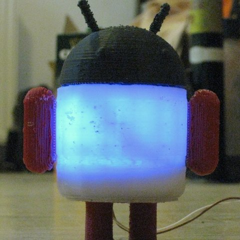 IMG_0716_display_large_display_large.jpg Download free STL file Glowing Lovable Google Android! • 3D print object, Steedrick