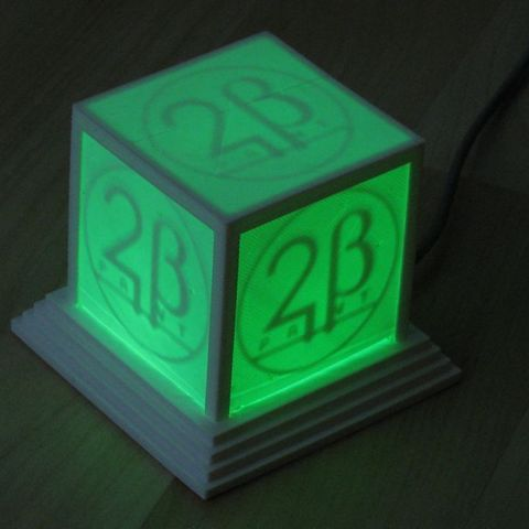 logo_cube_green_display_large_display_large.jpg Download free STL file Glowing Logo Cube • 3D print object, Steedrick