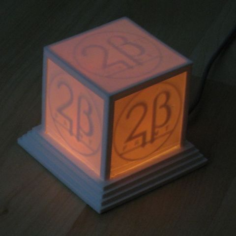 logo_cube_orange_display_large_display_large.jpg Download free STL file Glowing Logo Cube • 3D print object, Steedrick