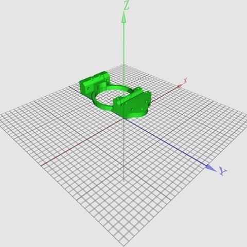 XAxis-XCarriage-teardrop2_1v1-wide_display_large_display_large.jpg Télécharger fichier STL gratuit Huxley chariot large für Arcol.hu Hot-end • Plan à imprimer en 3D, Steedrick