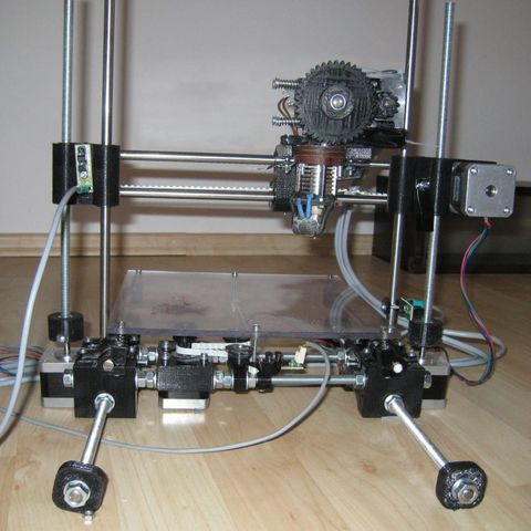 Download free 3D printing models Beta casted Wallace 3D printer, Steedrick