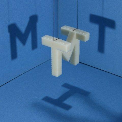 Free 3D printer designs MIT Shadow Sculpture, Steedrick