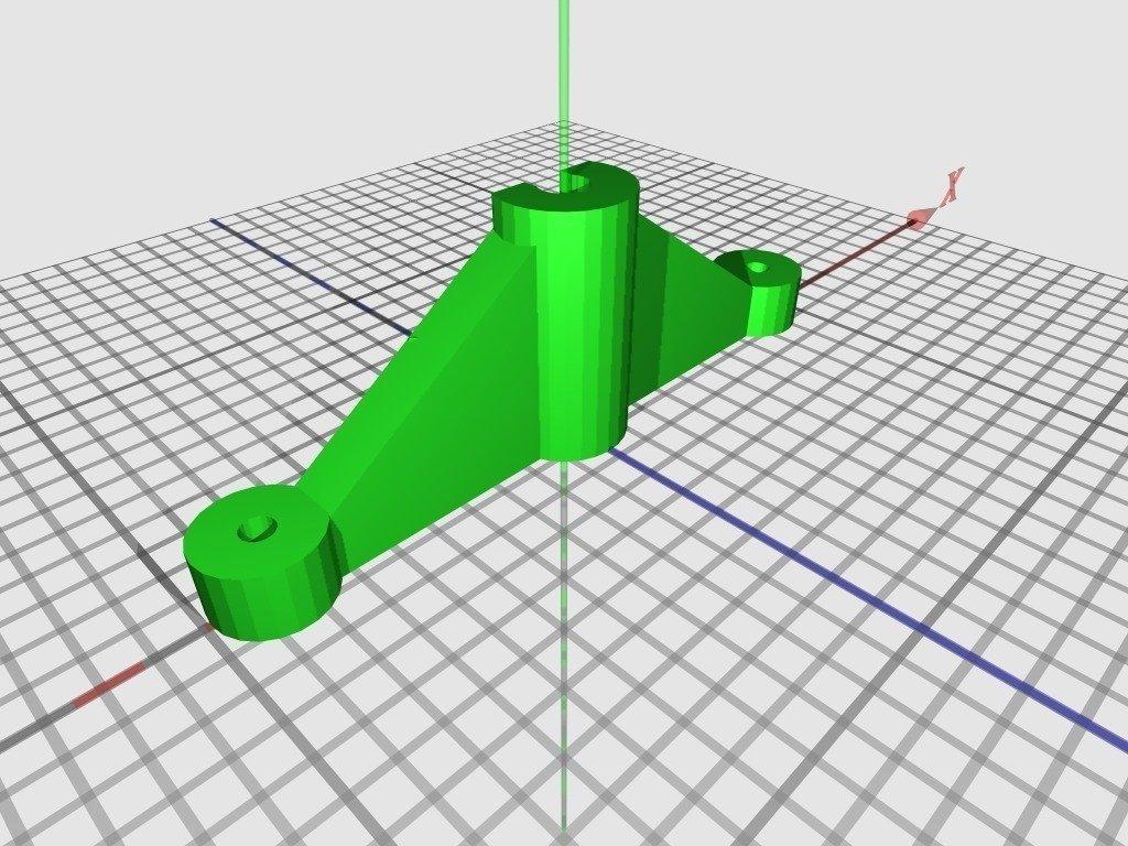 bowdenclamp_display_large_display_large.jpg Télécharger fichier STL gratuit Huxley chariot large für Arcol.hu Hot-end • Plan à imprimer en 3D, Steedrick