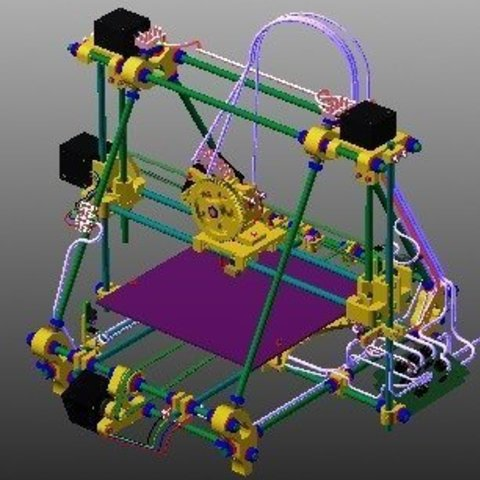 BetaPrusaMinimalDigital-web_display_large.jpg Download free STL file BetaPrusa 3D printer kits • 3D printable template, Steedrick