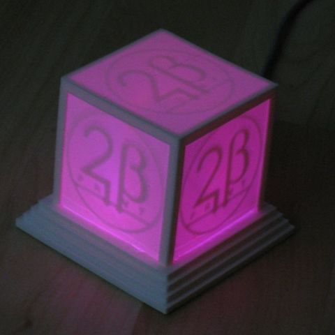 logo_cube_lila2_display_large_display_large.jpg Download free STL file Glowing Logo Cube • 3D print object, Steedrick