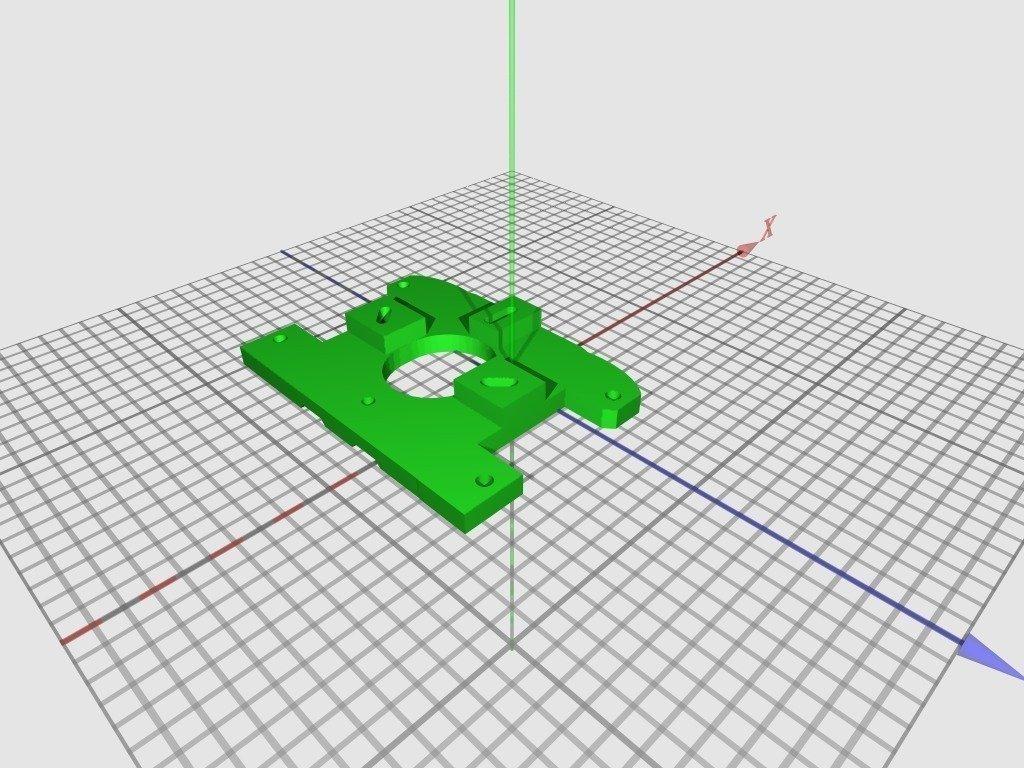 XAxis-MotorMount2_1v1-wide2_display_large_display_large.jpg Télécharger fichier STL gratuit Huxley chariot large für Arcol.hu Hot-end • Plan à imprimer en 3D, Steedrick