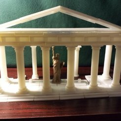 Free 3D printer model Parametric Doric Temple Building Set, Steedrick