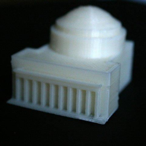 Télécharger STL gratuit Bâtiment 10 du MIT (Grand Dôme), Steedrick