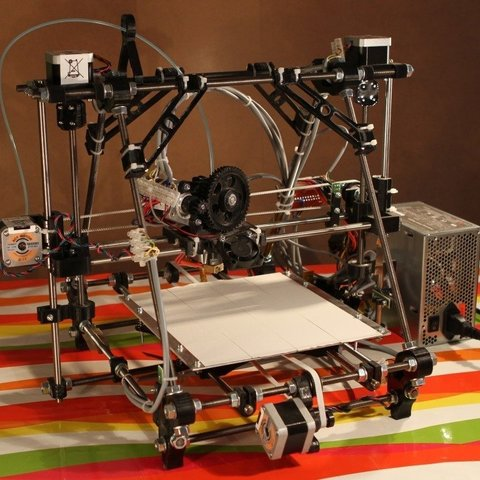 Download free 3D printer designs BetaPrusa 3D printer kits, Steedrick