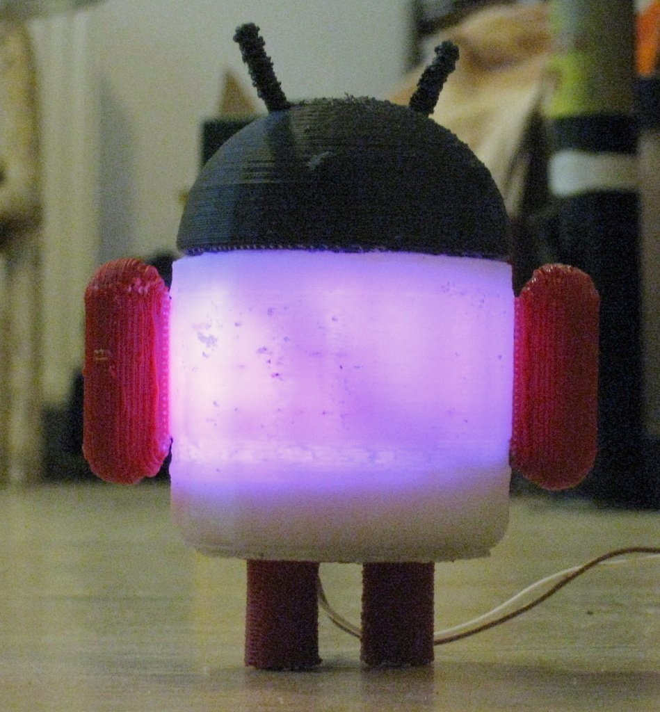 IMG_0715_display_large_display_large.jpg Download free STL file Glowing Lovable Google Android! • 3D print object, Steedrick