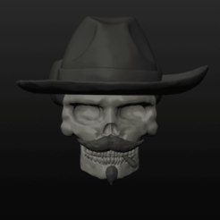 Doc Holliday Ring pic 1.png Download OBJ file Doc Holliday Ring • Model to 3D print, Crimsonbeard