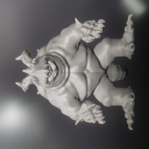 Impresiones 3D Modelo Tortleborn, Crimsonbeard