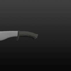 Knife pic 1.png Download OBJ file Basic Knife • 3D printing design, Crimsonbeard