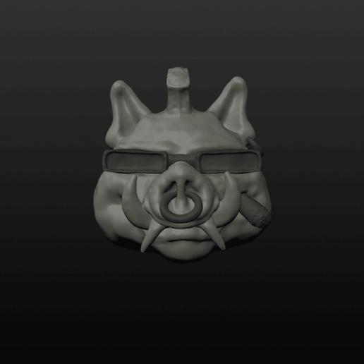Download 3D printing templates Bebop Ring, Crimsonbeard