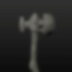 H.S. leg HAMMER.obj Télécharger fichier OBJ gratuit Marteau de guerre • Modèle imprimable en 3D, Crimsonbeard