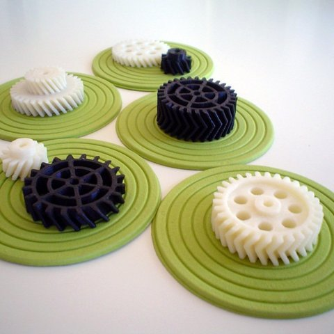 Download free STL file OpenSCAD Helical Gears, AlbertKhan3D