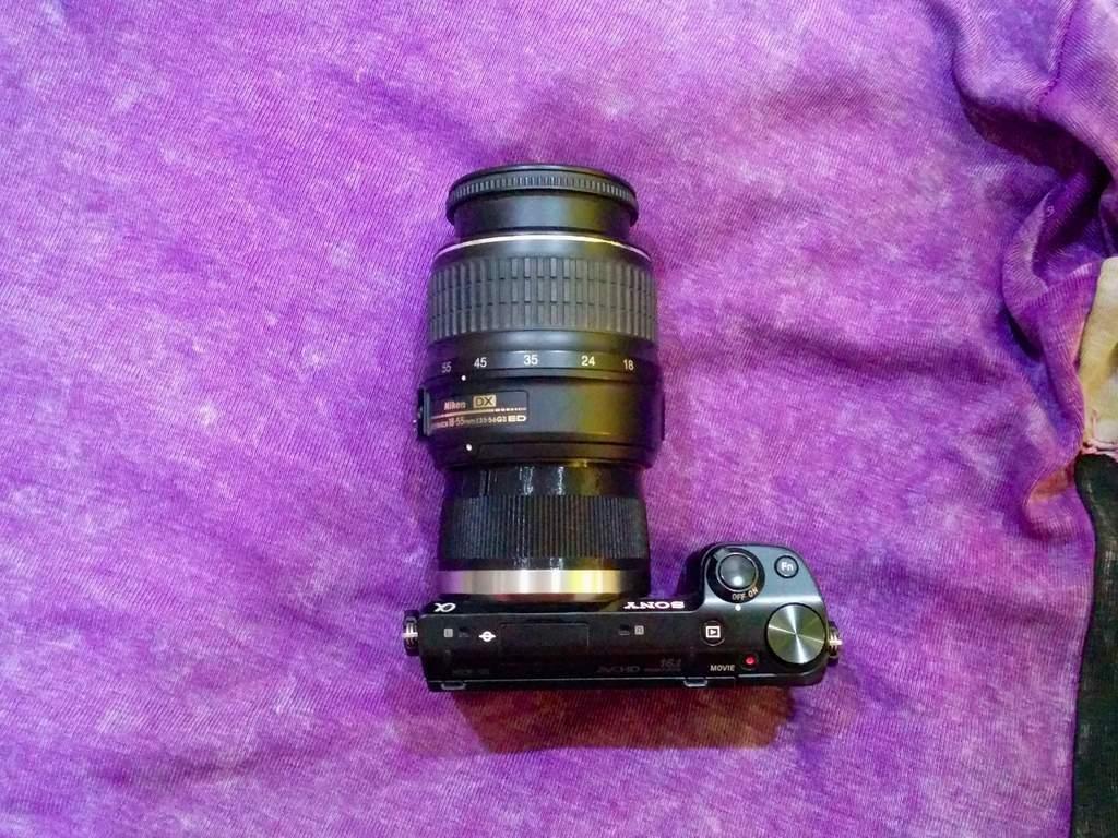 IMG_20140410_191912_display_large.jpg Télécharger fichier STL gratuit Adaptateur d'objectif Sony E-Mount pour objectif Nikon F-Mount • Plan à imprimer en 3D, AlbertKhan3D