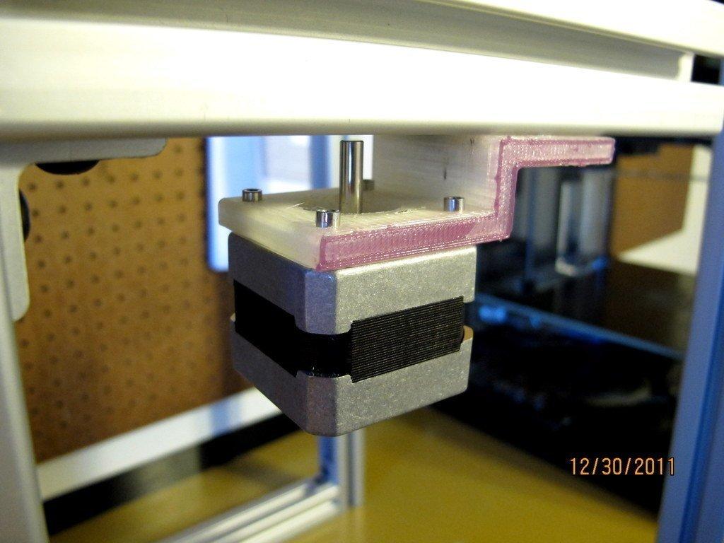 IMG_0281_display_large_display_large.jpg Télécharger fichier STL gratuit Support moteur Nema 17 - Support de montage en bas • Plan pour imprimante 3D, AlbertKhan3D