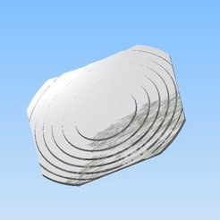 Download free 3D printing files Fresnel Mirror Reflector Solar Cooker, AlbertKhan3D