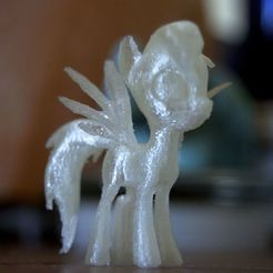 Télécharger fichier STL gratuit My Little Pony : Friendship Is Magic modèles, subdivisé deux fois • Design pour impression 3D, AlbertKhan3D