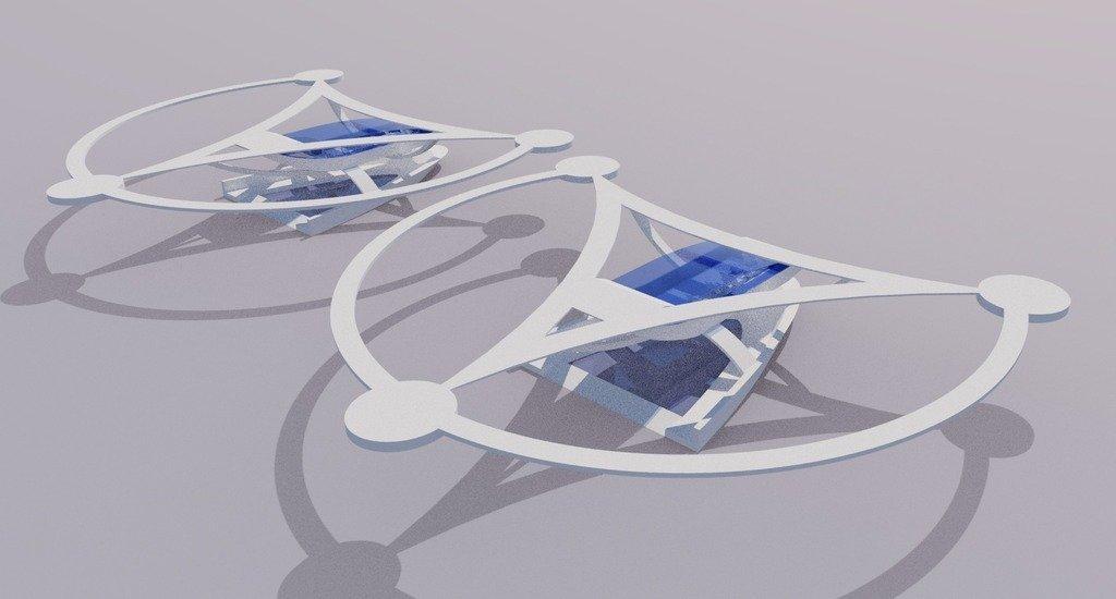 modern_inventor_0713_display_large.jpg Download free STL file Stingray Amphibious Tri-Copter Drone Model • 3D printable design, AlbertKhan3D