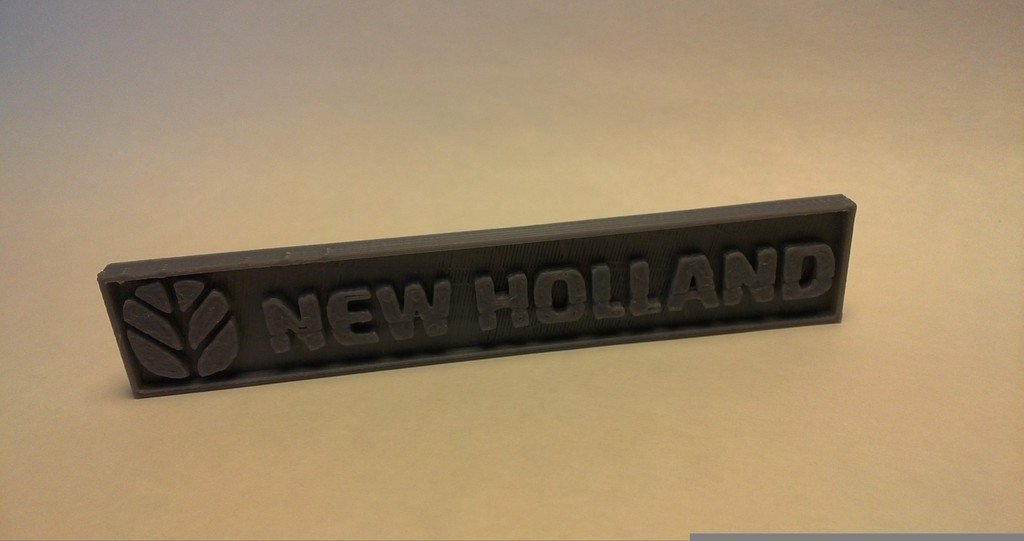 13090086_display_large.jpg Download free STL file New Holland Logo for your tractor • 3D printing model, AlbertKhan3D