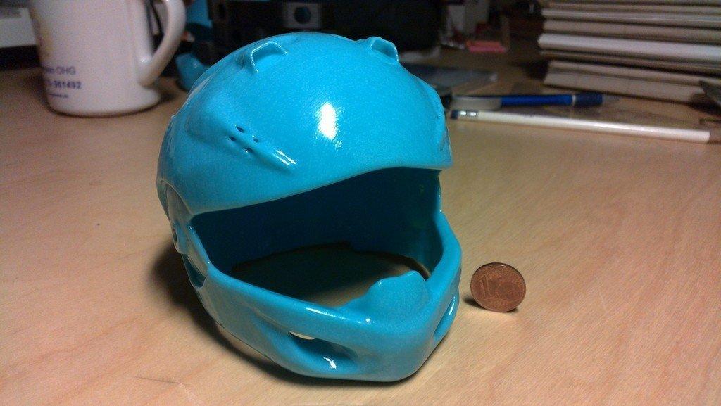 helmet_skyblue_acetone1_display_large.jpg Download free STL file helmet model with contest • 3D printer object, AlbertKhan3D