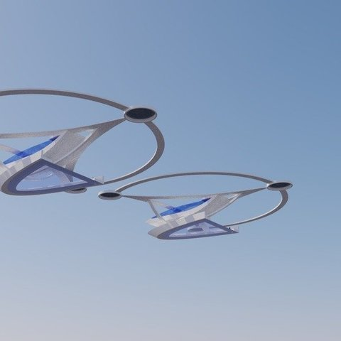 modern_inventor_0733_display_large.jpg Download free STL file Stingray Amphibious Tri-Copter Drone Model • 3D printable design, AlbertKhan3D
