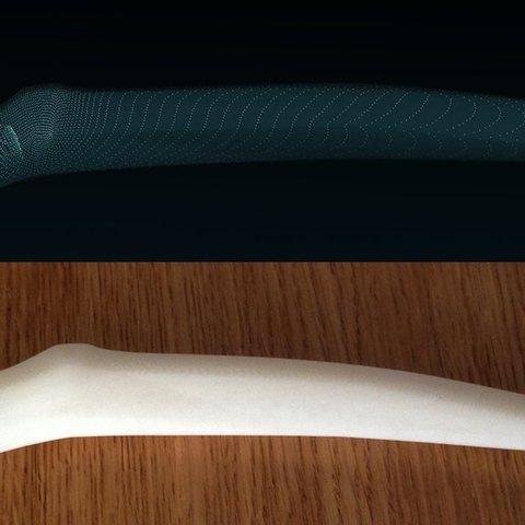 digitalToReal.1_display_large.jpg Télécharger fichier STL gratuit Gauche 4 griffes de sorcière mortes Cosplay Bride Bride Claws • Objet pour imprimante 3D, AlbertKhan3D