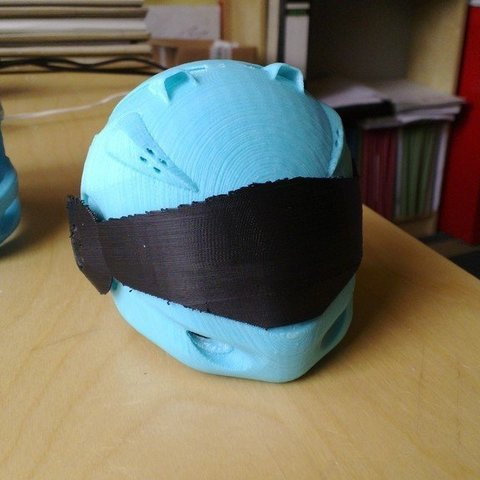 Free 3D printer files helmet model with contest, AlbertKhan3D