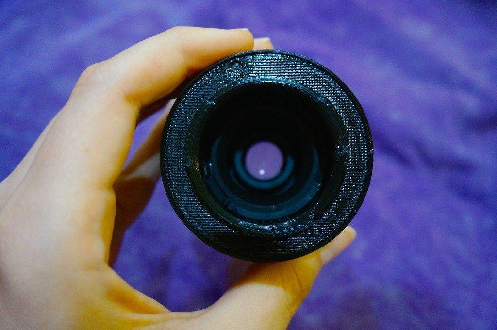 DSC00058_display_large.jpg Télécharger fichier STL gratuit Adaptateur d'objectif Sony E-Mount pour objectif Nikon F-Mount • Plan à imprimer en 3D, AlbertKhan3D