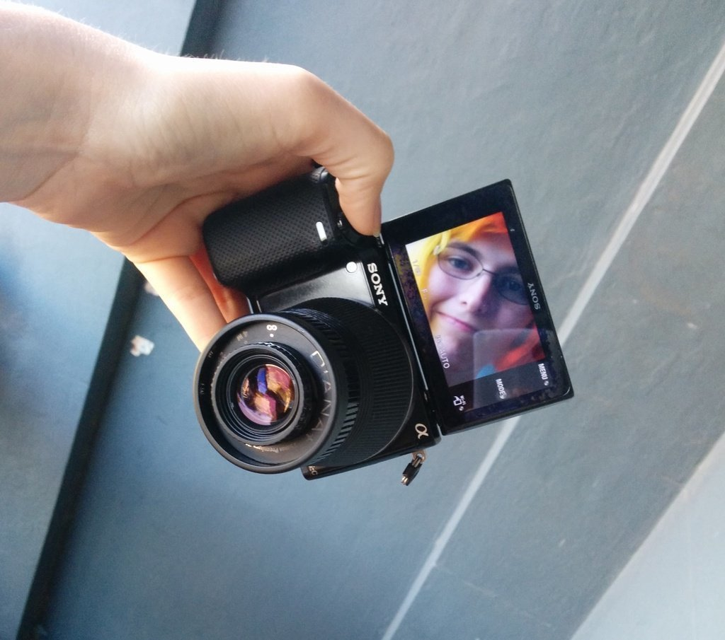 IMG_20140502_143455_display_large.jpg Download free STL file Sony E-Mount (NEX) adaptor for Diana F+ Lens • 3D printer object, AlbertKhan3D