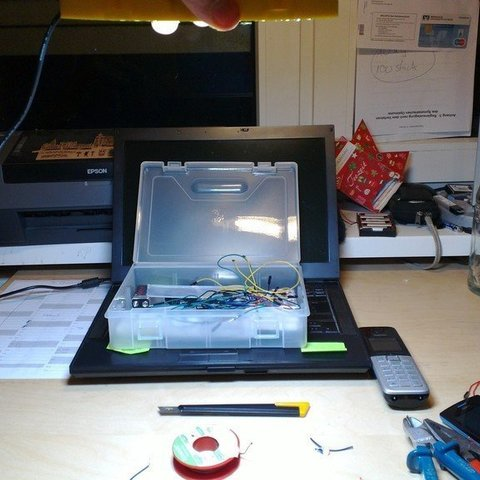 gratis archivos Descargar LED Estuche 9 STL lámpara de para v80mNnw