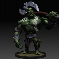 davide-barba-zbrush-document3.jpg Télécharger fichier STL Orcs miniatures de fantaisie • Design pour imprimante 3D, DB3DCollectible