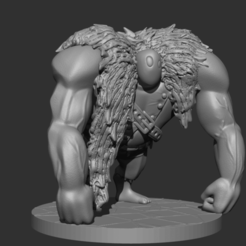 ZBrush Document1.png Download STL file Shadowmoon Berserker  • 3D printing template, DB3DCollectible