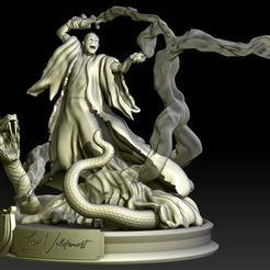 Télécharger fichier imprimante 3D Voldemort de mon modèle d'impression 3D discordant, MrDic